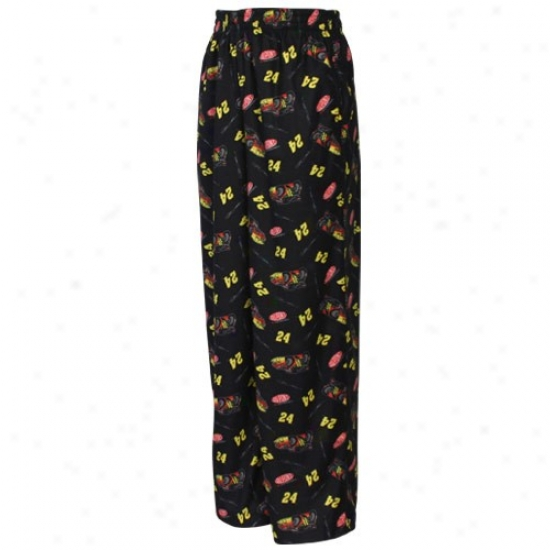 #24 Jeff Gordon Youth Black Pajama Pants