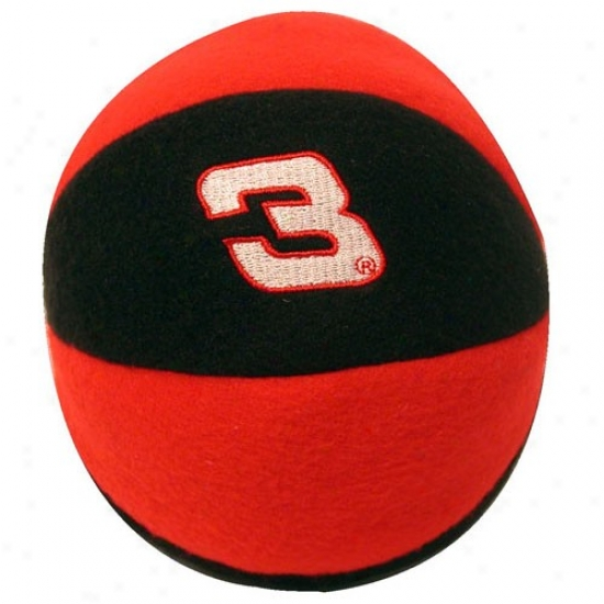 #3 Dale Earnhardt Red-black Team Ball Rattle