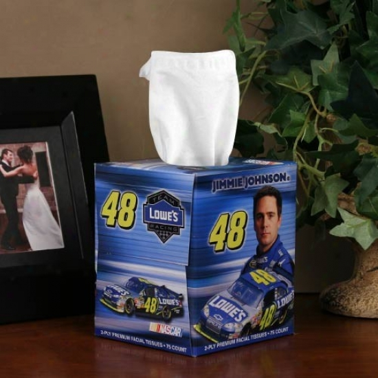 #48 Jimmie Johnson Box Of Sports Tissues