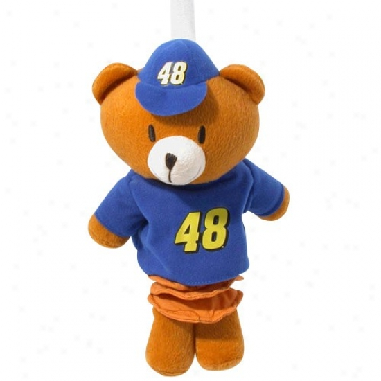 #48 Jimmie Johnson Pull-down Mascot