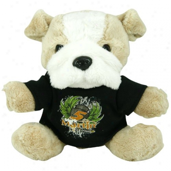 #5 Mark Martin Plush Dog