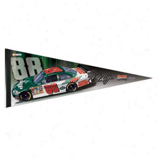 #88 Dale Earnhardt Jr. 12'' X 30'' Premium Felt Driver Pennant