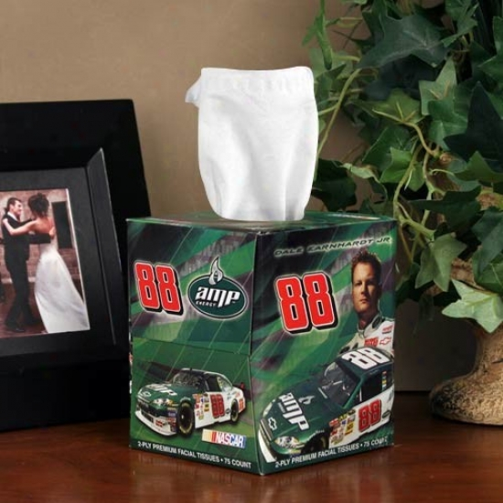#88 Vale Earnhard5 Jr. Box Of Sports Tissues