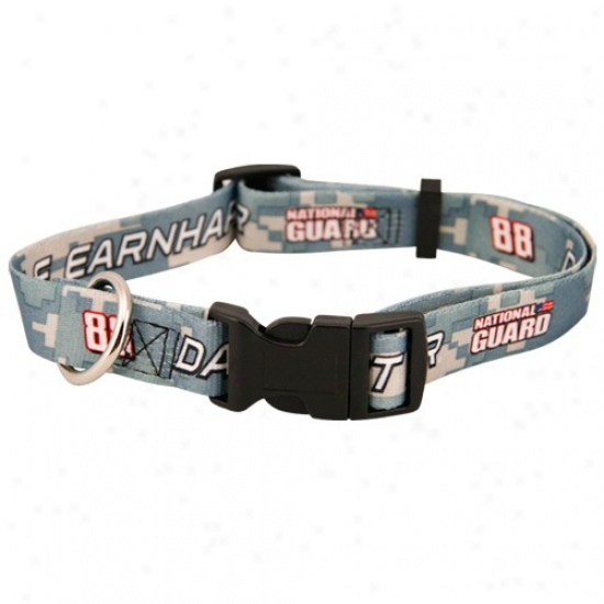 #88 Dale Earnhardt Jr. Multi Camo Adjustable Pet Collar