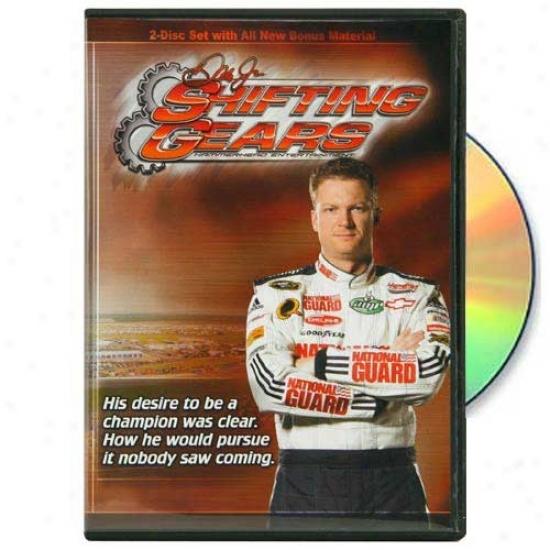 #88 Dale Earnhardt Jr. Shifting Gears 2-disc Dvd Set