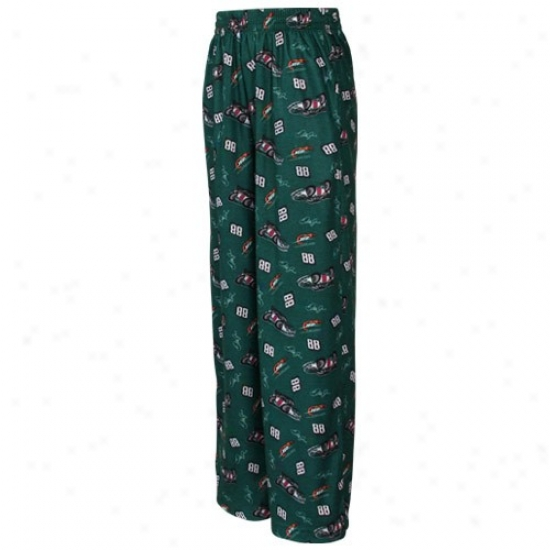 #88 Dale Earnhardt Jr. Youth Green Pajama Pants