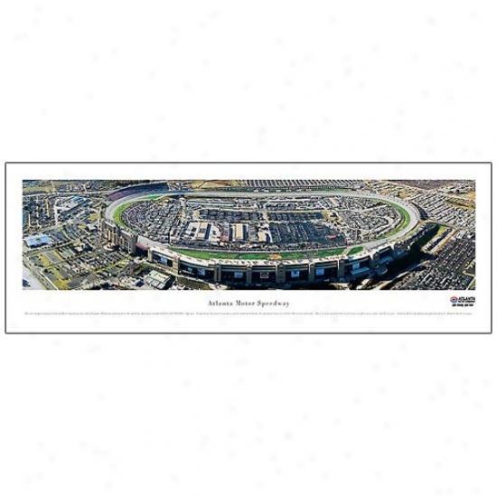 Atlanta Motor Speedway Panoramic Print