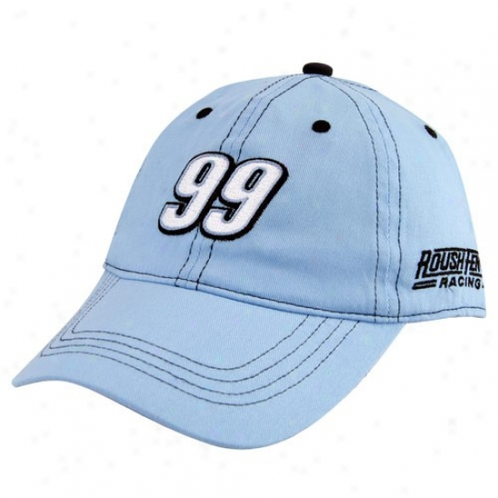 Carl Edwards Gear: #99 Carl Edwards Toddoer Light Blue Adjustable Hat