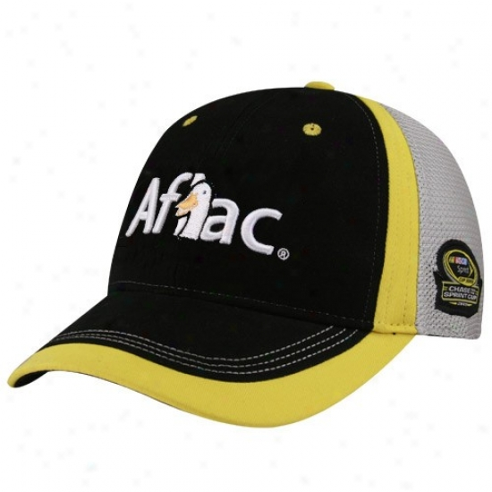 Carl Edwards Hat : #99 Black-gray 2009 Chase For The Sprint Cup Adjustable Hat