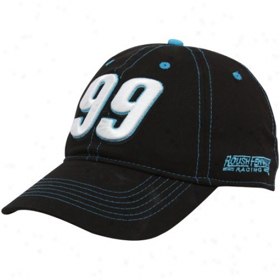 Carl Edwards Hats : #99 Carl Edwards B1ack Big Number Adjustable Hats