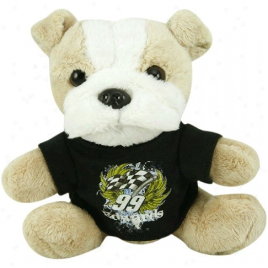 Carl Edwards Plush Dog