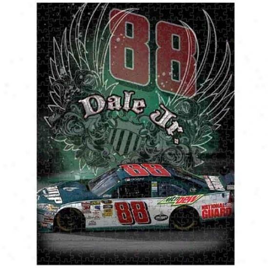 Dale Earnhardt Jr. 550-piece Nascar Photo Puzzle