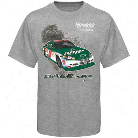 Dale Earnharft Jr. Apparel: #88 Dale Earnhardt Jr. Youth Ash In The Pit T-shirt