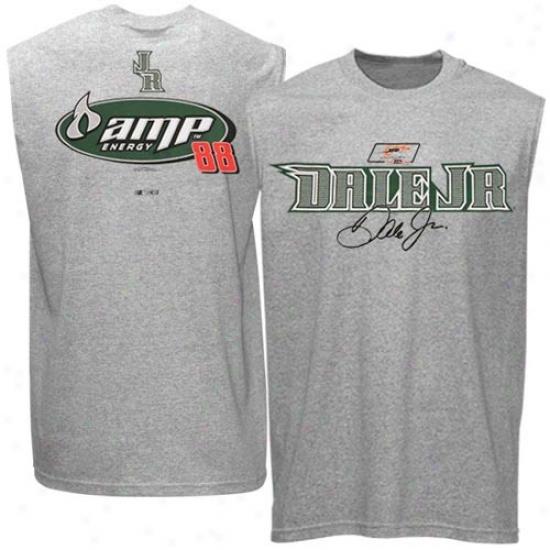 Dale Earnhardt Jr. Apparel: Dale Earnhardt Jr. Ash Smooth Speed Sleeveless T-shirt