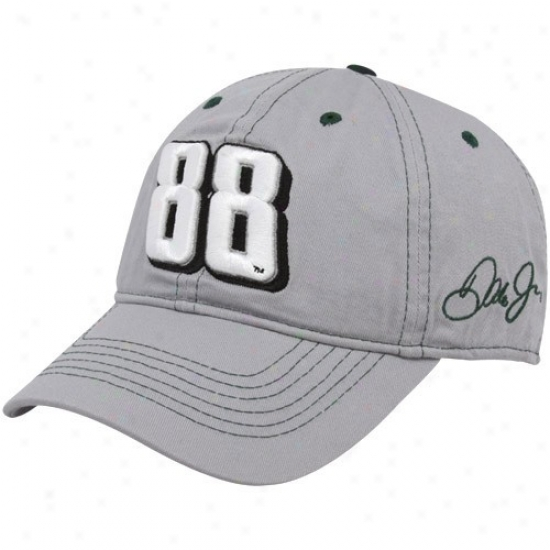 Dale Earnhardt Jr. Head-cover : #88 Dale Earnhardt Jr. Gray Big Number Axjustable Cap