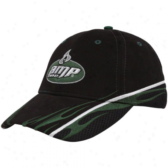 Dale Earnhardf Jr. Gear: #88 Dale Earnhardt Jr. Black Sponsor Adjustable Hat