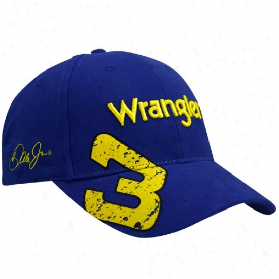 Dale Earnhardt Jr. Hat : Dale Earnhardt Jr. Royal Livid #3 Pit Hat Adjuxtable Cardinal's office