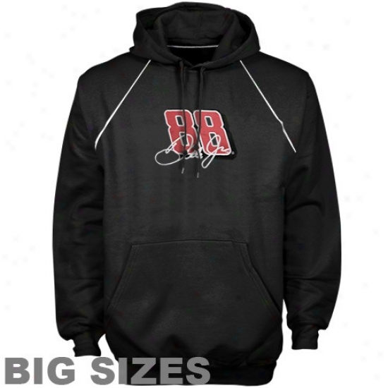 Dale Earnhardt Jr. Hooxie : Dale Earnhardt Jr. Black Driver Preview Big Sizes Hoodie