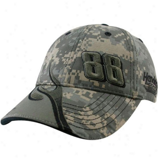 Dale Earnhardt Jr. Merchandise: #88 Dale Earnhardt Jr. Camo Element Adjustable Hat