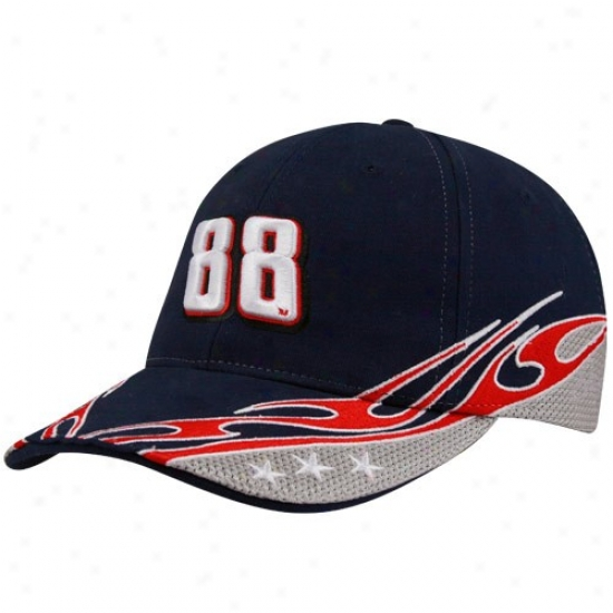 Dale Earnhardt Jr. Merchandisse: #88 Dale Earnhardt Jr. Navy Blue Element Adjustable Hat