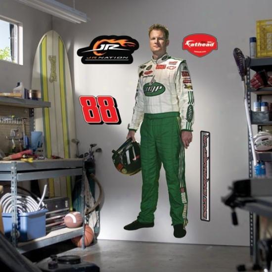 Dale Earnhardt Jr. Nasar Driver Fathead