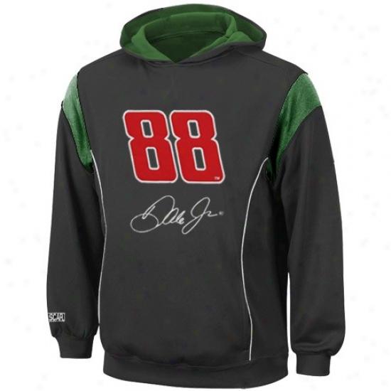 Dale Earnhardt Jr. Sweatshirt : #88 Dale Eqrnhardt Jr. Youth Black Clutch Sweatshirt