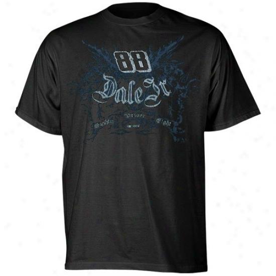 Dale Earnhardt Jr. Tee : #88 Dale Earnhardt Jr. Youth Black Gateway Tee