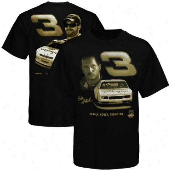 Dale Earnhardt Jr. Tshirt : Dale Earnhardt & Dale Earnhadrt Jr. Black Lineage. Reverence. Tradition. Tshirt