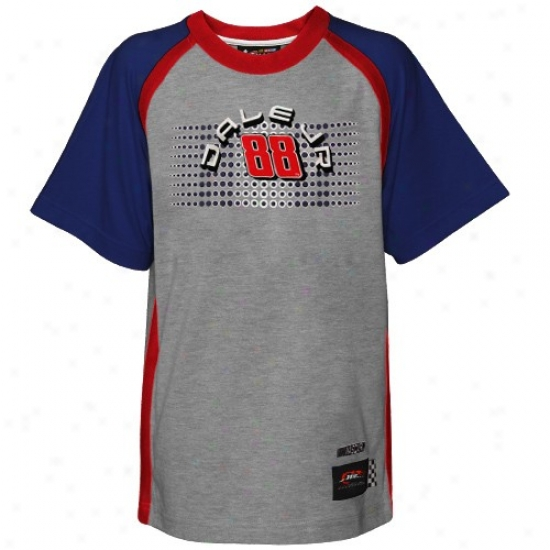 Dale Earnhardt Jr. Tshirt : Reebok Dale Earnnhardt Jr. Youth Aah Speedway Tshirt