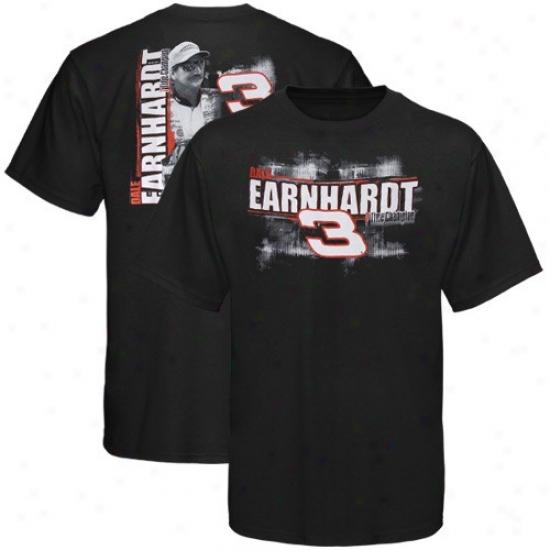 Dale Earnhardt Shirt : #3 Dale Earnhardt Black Chassis Shidt