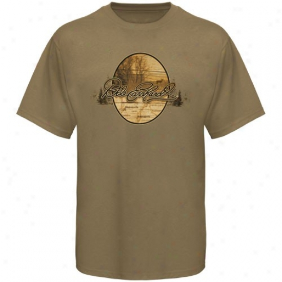 Dale Earnhardt Shirt : #3 Dale Earnhardt Tan Hometown Shirt