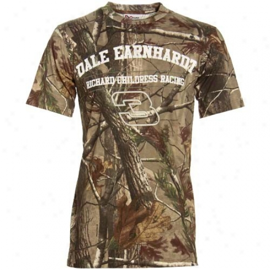 Dale Earnhardt Tshirts : #3 Dale Earnhardt Real Tree Camo Tshirts