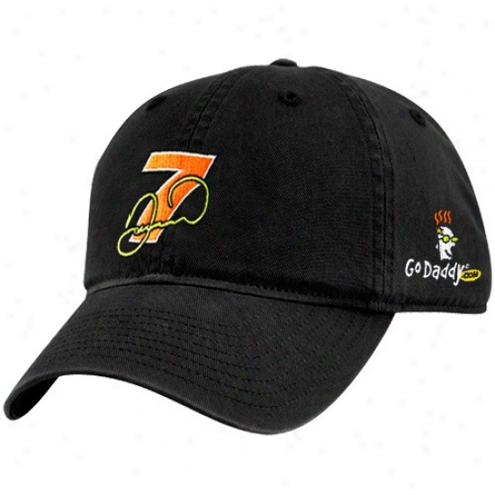 Danica Patrick Caps:  #7 Danica Patrick Black Dynamic Style Adjustable Caps