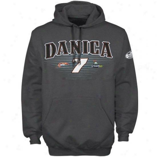 Danica Patrick Sweatshurts : #7 Danica Patrick Charcoal Sweatshirts Sweatshirts