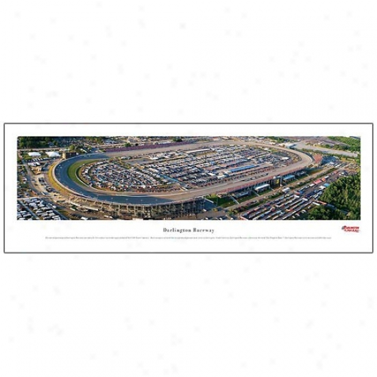Darlington Raceway Panoramic Print