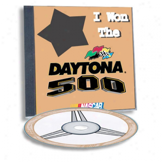 Daytona 500 Hero Custom Sports Cd