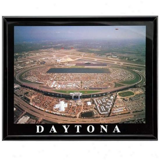 """daytona International Speedway 8"""" X 10"""" Framed Aerial Photograph"""