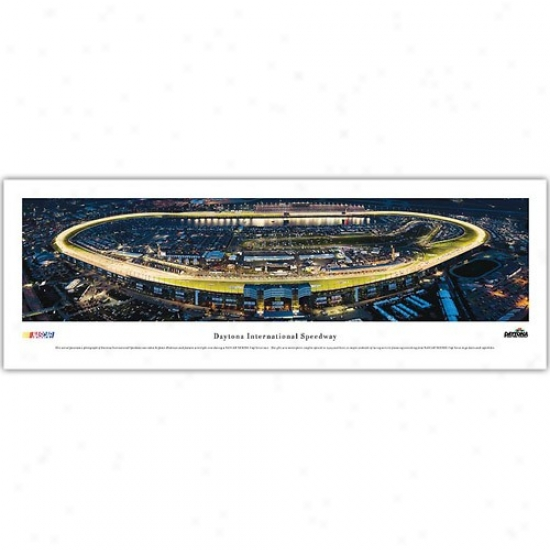 Daytona International Speedway Panoramic Print