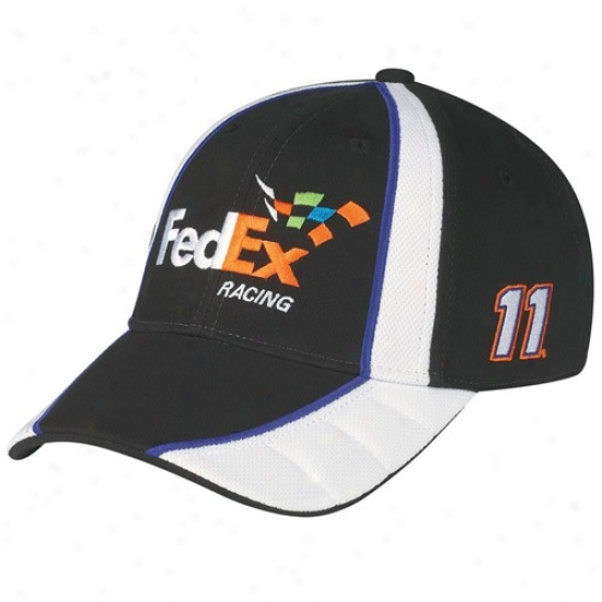 Denny Hamlin Merchandise: #11 Denny Hamlin Wicked Driver Pit Adjustable Hat