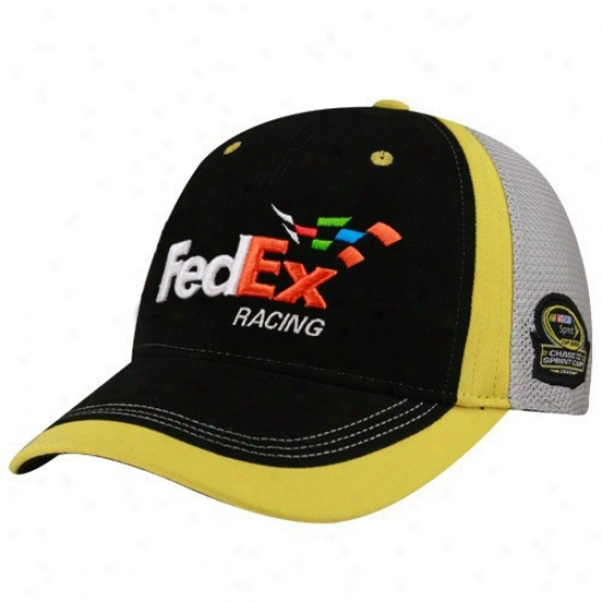 Denny Hamlin Commodities: #11 Denny Hamlin Black-gray 2009 Chase For The Spribt Cup Adjustable Hat
