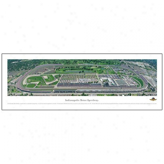 Indianapolis MotorS peedway Panoramic Print