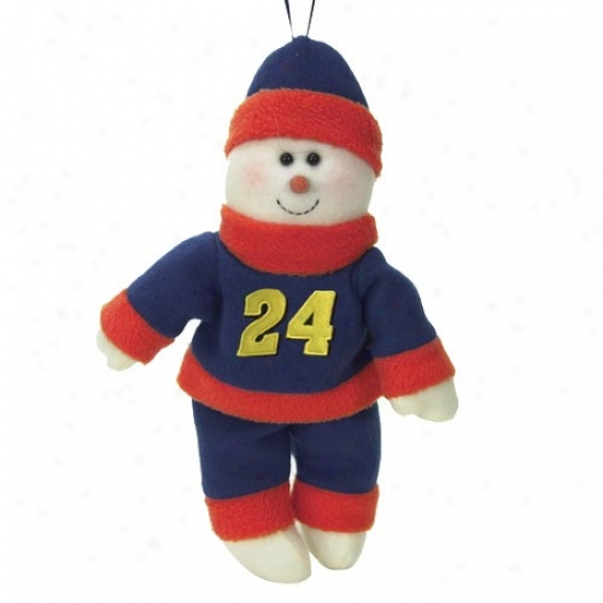 Jeff Gordon 10-inch Snowflake Friend Plush