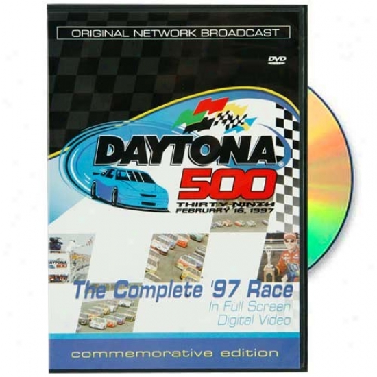 Jeff Gordon 1997 Daytona 500 Original Network Broadcast Dvd
