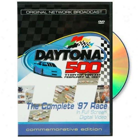Jeff Gordon 1997 Daytona 500 Original Network Broadcast Dvd