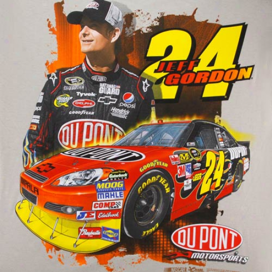 Jeff Gordon Apparel: Jeff Gordon Tan Draft T-shirt