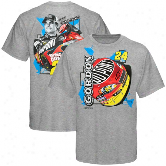Jeff Gordon Ap0arel: Jeff Gordon Youth Ash Inside Track T-shirt