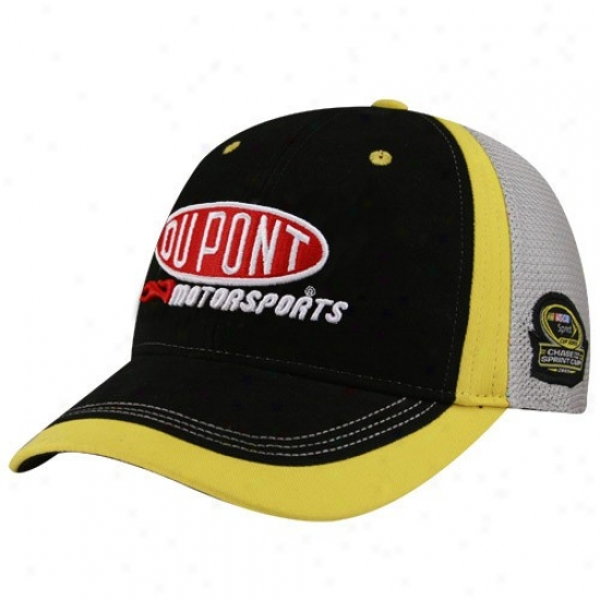 Jeff Gordon Gear: #24 Jeff Gordon Black-gray 2009 Chase For The Sprint Cup Adjustable Hat