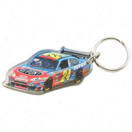 Jeff Gordon High Definition Keychain