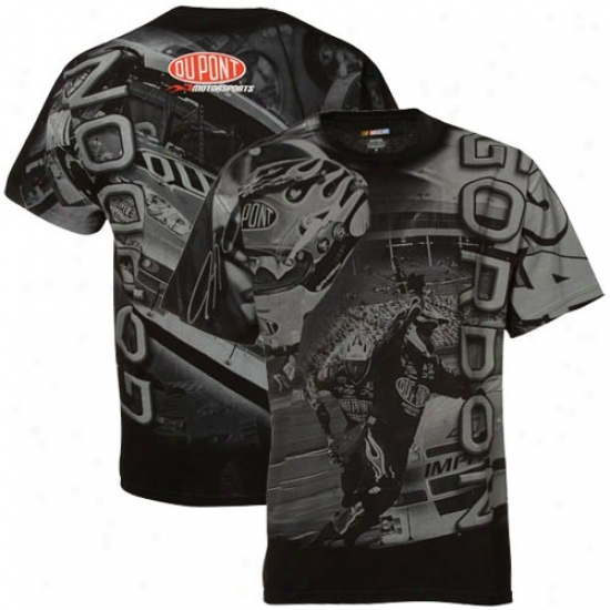 Jeff Gordon Tee : #24 Jeff Gordon Black Oversize Tee