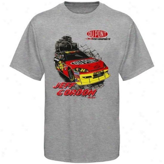 Jeff Gordon Tshirt : #24 Jeff Gordon Youth Ash In The Pit Tshirt